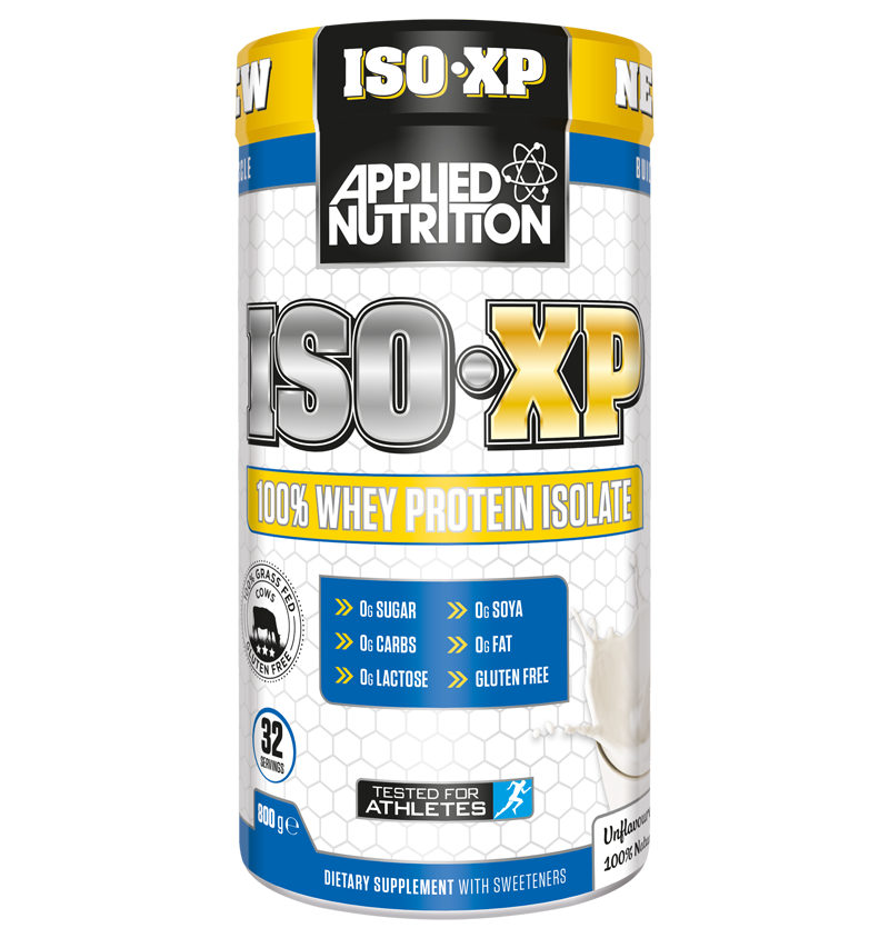 applied nutrition iso xp 100 whey protein isolate