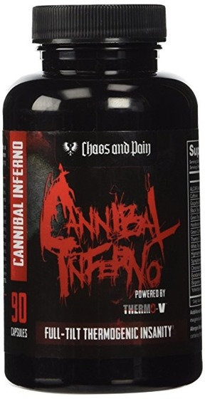 Cannibal Inferno Amped 90 caps