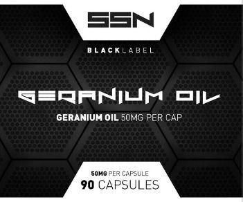 Geranium Oil 90 caps
