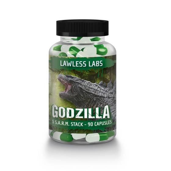 LL Godzilla Sarm Stack 90 caps