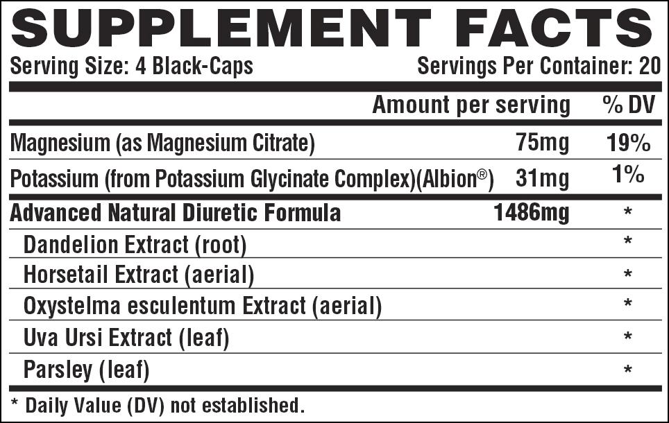 Lipo6 Black Diuretic 80 caps