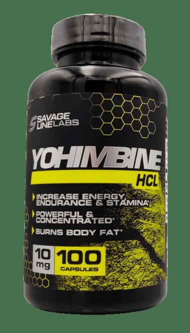 Myo Yohimbine 10mg 100 caps