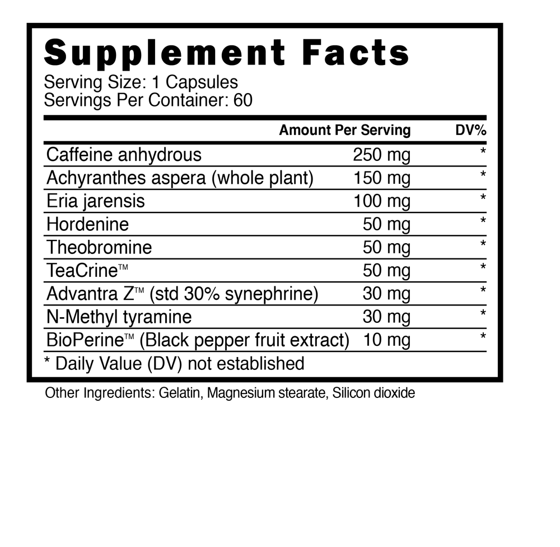 ViperX 60 caps