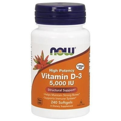 Vitamin D-3 5000UI 240 caps