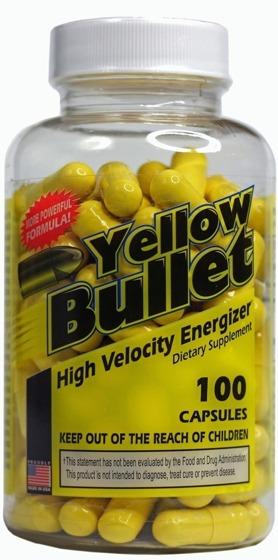 Yellow Bullet 100 caps
