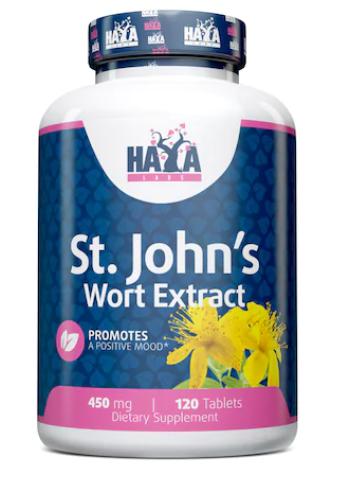 St. John's Wort Extract 120 caps