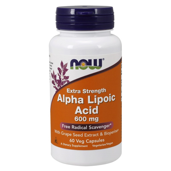 Alpha Lipoic Acid 600 mg 60 caps