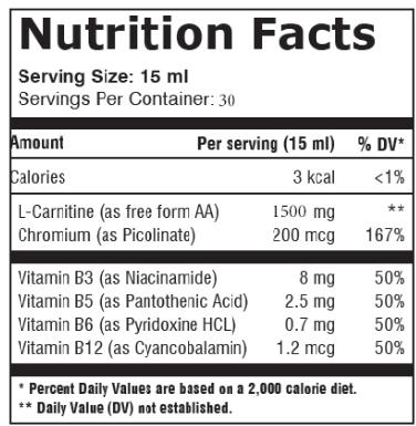 EB L-Carnitine 450 ml