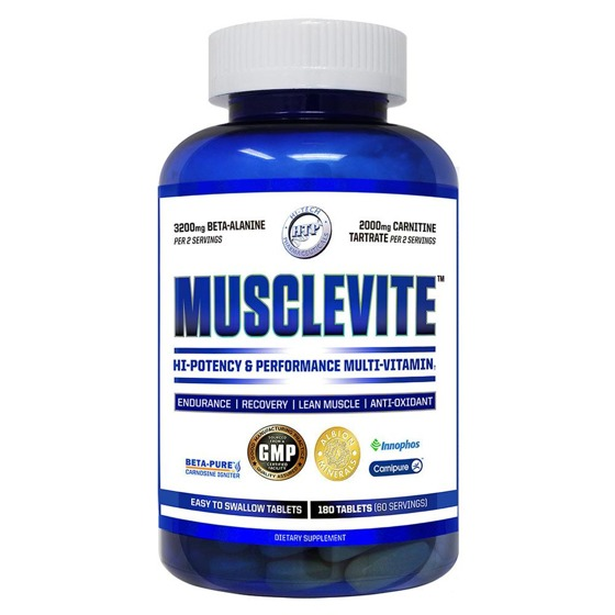 Musclevite 180 caps