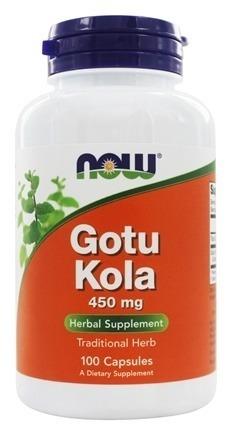 NowFoods Gotu Kola 450 mg 100 caps.