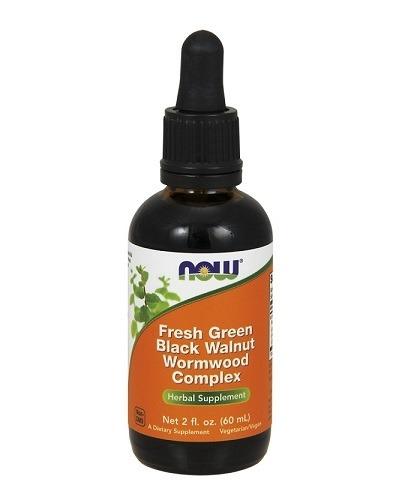 NowFoods Green Black Walnut Wormwood complex 60 ml
