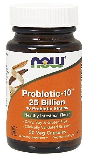 NowFoods Probiotic-10 25 Billion 50 caps