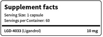 Pro Nutrition LGD-4033 Xtreme 60 caps