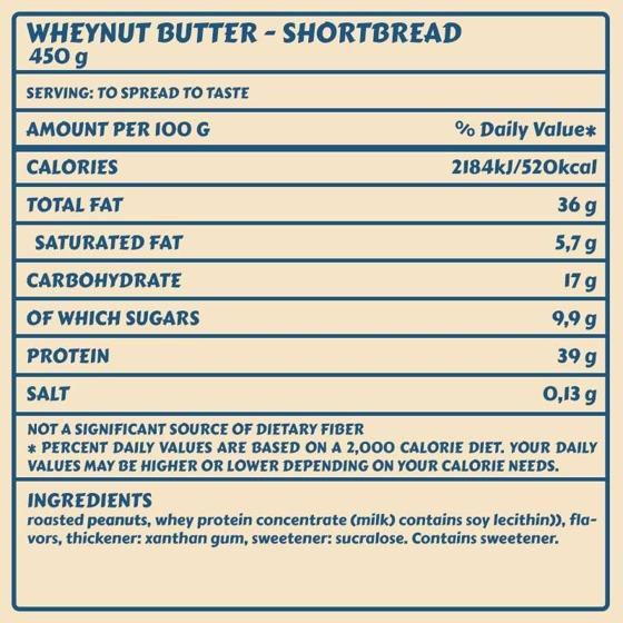 Wheynut Butter 450g