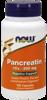 NowFoods Pancreatin 200 mg 100 caps